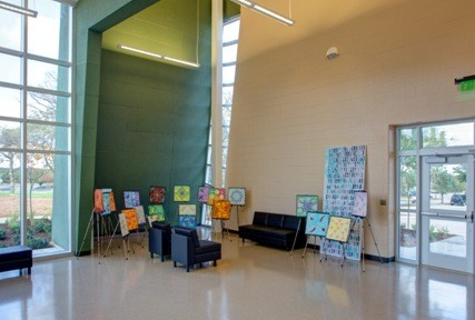 Sr High Fine Arts Lobby2