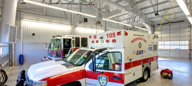 Firestation 105 Apparatus Bay