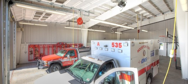 Firestation 35 Apparatus Bay